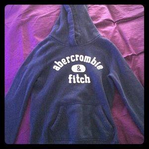Abercrombie kids navy blue sweatshirt